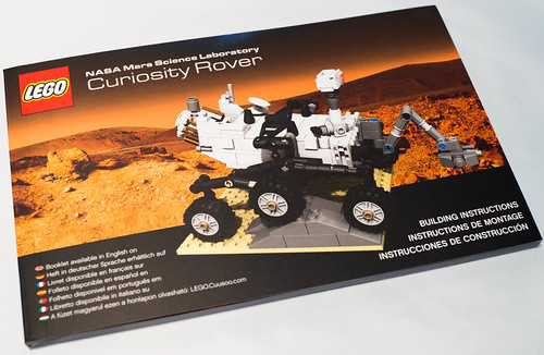 REVIEW LEGO 21104 Cuusoo #005 - Nasa Curiosity Rover
