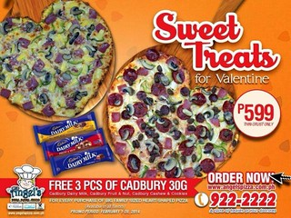 Angel's Pizza Sweet Treats for Valentine's