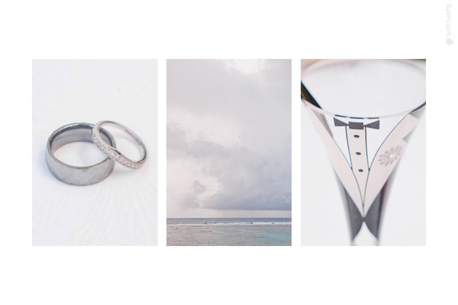Silver. wedding bands, overcast sky