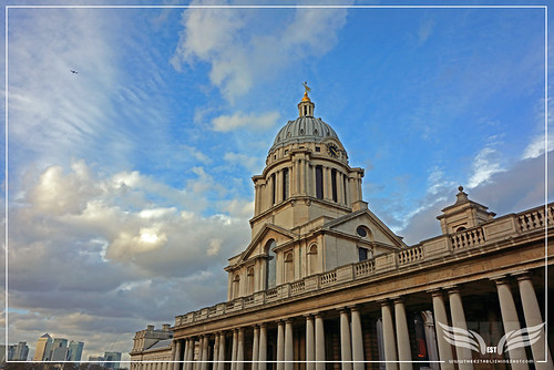 The Establishing Shot: THOR: THE DARK WORLD BATTLE OF GREENWICH FILM LOCATION -  SIR CHRISTOPHER WREN'S CHAPEL TOWER, THE OLD ROYAL NAVAL COLLEGE (ORNC) GREENWICH, LONDON by Craig Grobler
