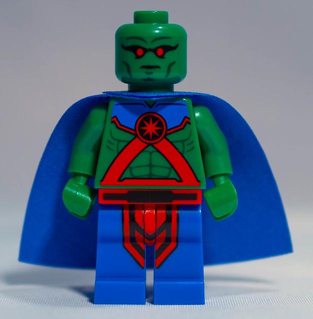 REVIEW LEGO Polybag Martian Manhunter