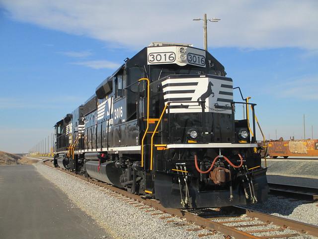 Switching locos, Charlotte, NC