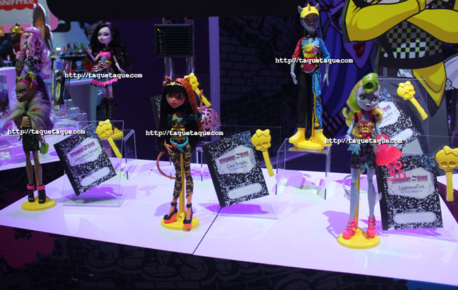 New York Toy Fair 2014 - Novedades Monster High: Colección Freaky Fusion