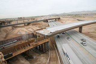 L303 & I-10 Traffic Interchange (March 2014)