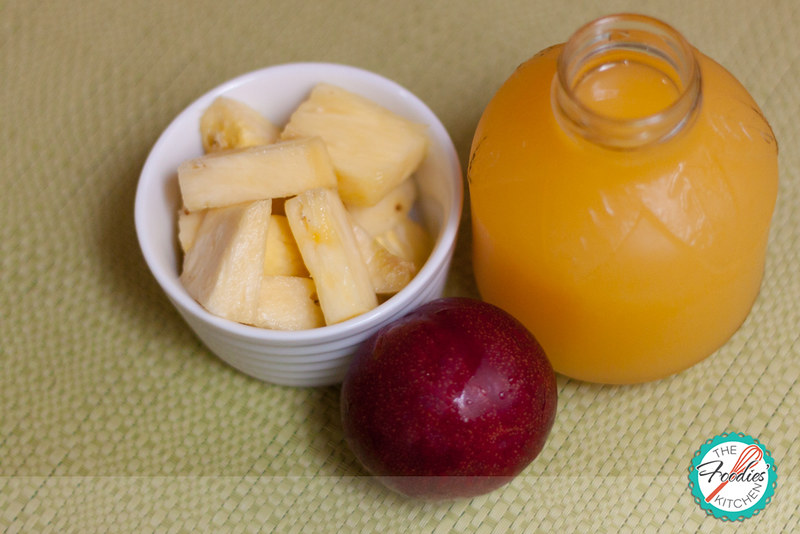 Nectarine Pineapple Smoothie
