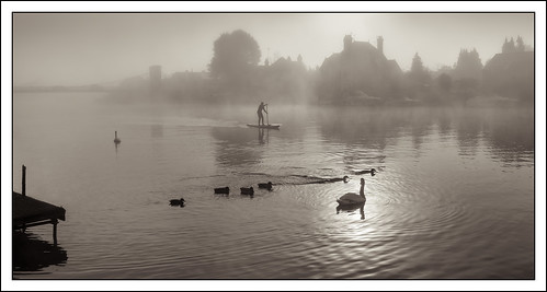 england mist water weather thames river landscape person unitedkingdom swans marlow refelection photostyles wycombedistrict