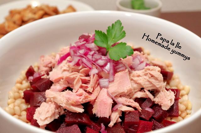 Salata cu fasole boabe si ton (5)