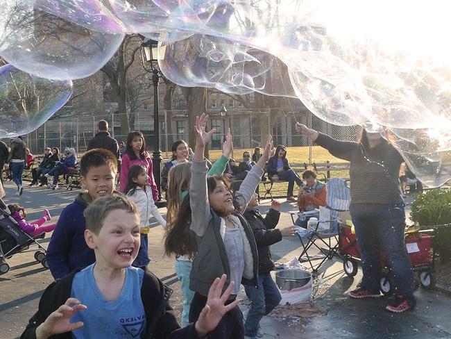 Bubbles, WSP