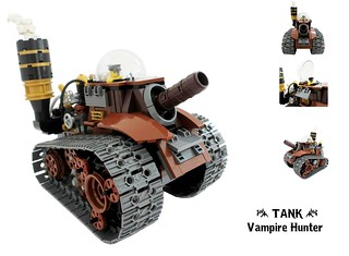 Vampire hunter : The TANK