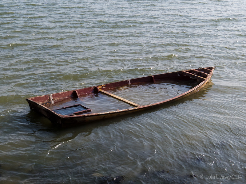 Sunk, but still a trace