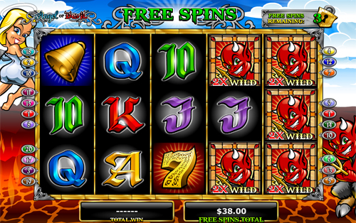 free Angel or Devil Free Spins