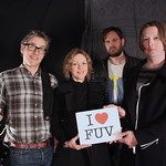 Live at WFUV, 4/7/2014. Photo by Erica Talbott