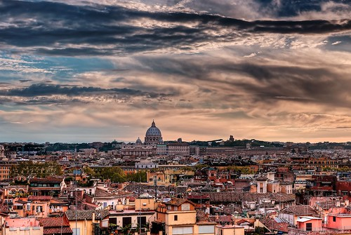city travel sky italy vatican rome roma church saint clouds rooftops peter riccardo mantero afszoomnikkor2470mmf28ged potd:country=it