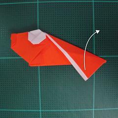 การพับกระดาษเป็นรูปปลาทอง (Origami Goldfish) 019