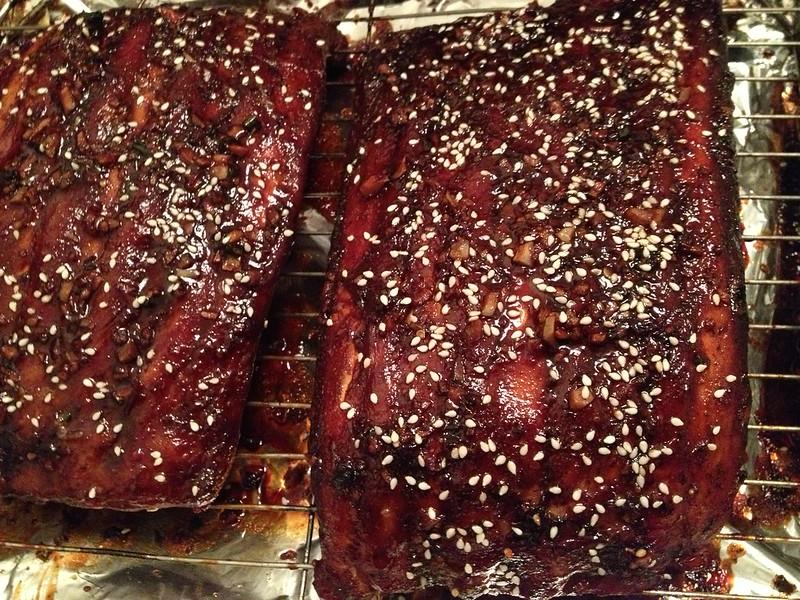 Succulent Sticky Pork : Ribs Sticky and Ready