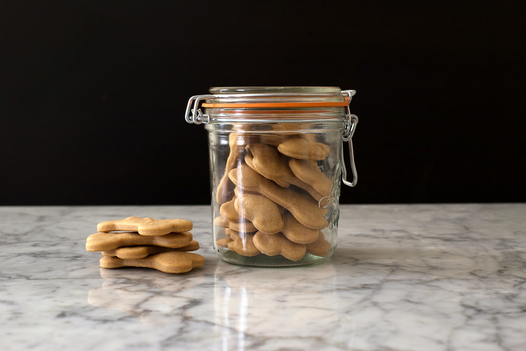 Dog biscuits from Food52