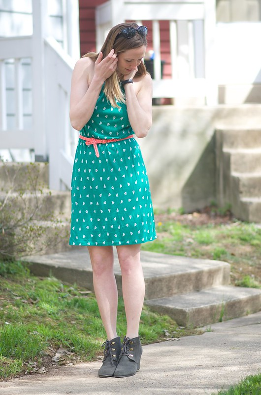 green boat dress 19