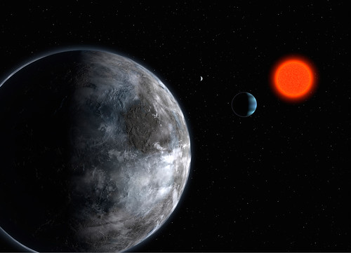 Most Habitable Alien Planets: Gliese 581g