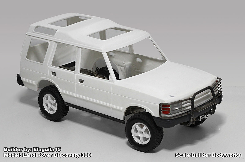 Land Rover Discovery 300tdi [Archive] - THE SCALE BUILDER\'S GUILD
