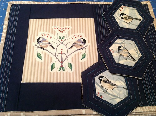 Placemats featuring birds
