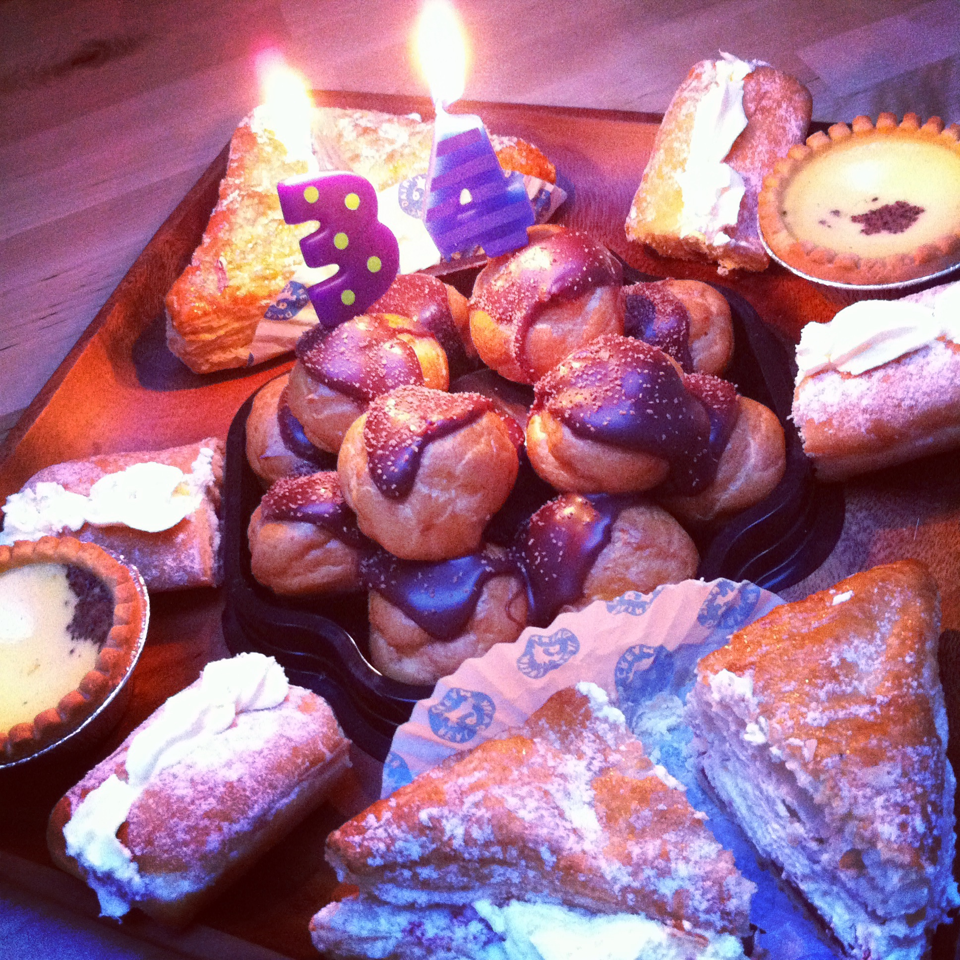 Birthday Pastries