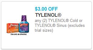 photo about Tylenol Printable Coupon identify $3/2 Tylenol Chilly or Tylenol Sinus Printable Coupon! - The