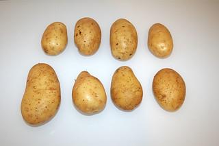10 - Zutat Kartoffeln / Ingredient potatoes