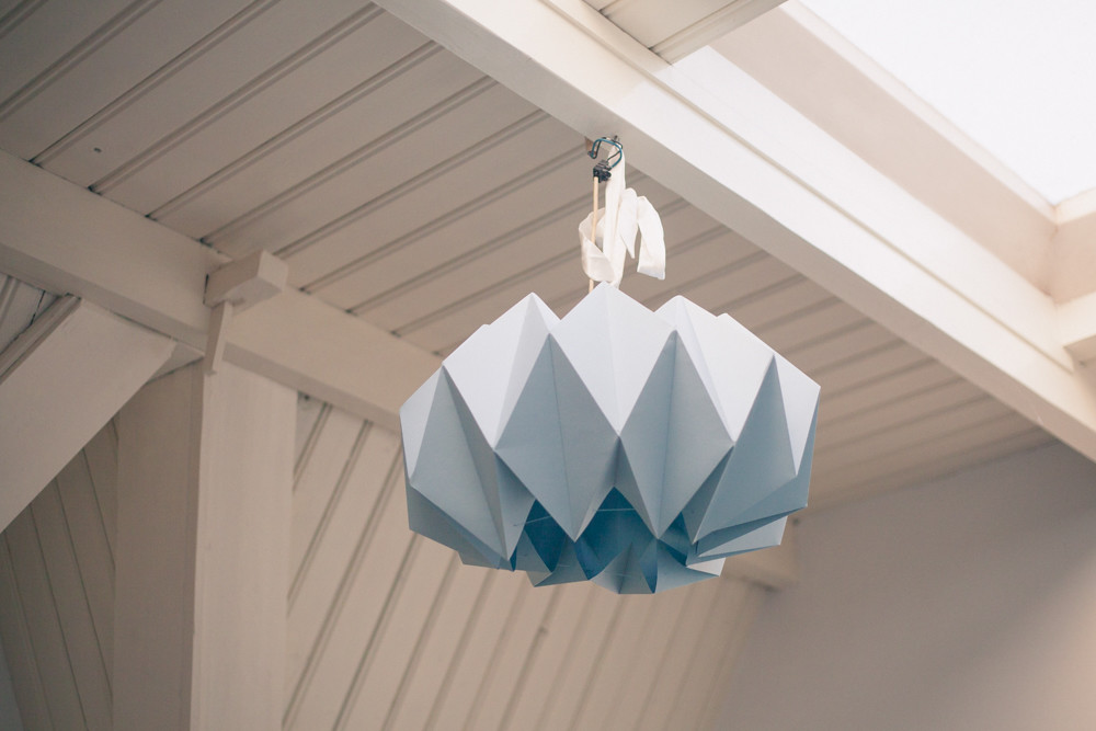Origami lampshade i like that blog i finally understood the joy of making something yourself maybe ill do more diy projects in the future so if you have any suggestions for example for my aloadofball Images