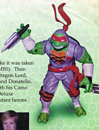 LEE'S TOY REVIEW #xx ::  pg.x TOY FAIR '98 - PLAYMATES'S 'ZORRO' & NT: THE NEXT MUTATION. Turtleflage & SHADOW NINJAS / Unreleased 'SHADOW NINJA RAPH' (( xx 1998 ))