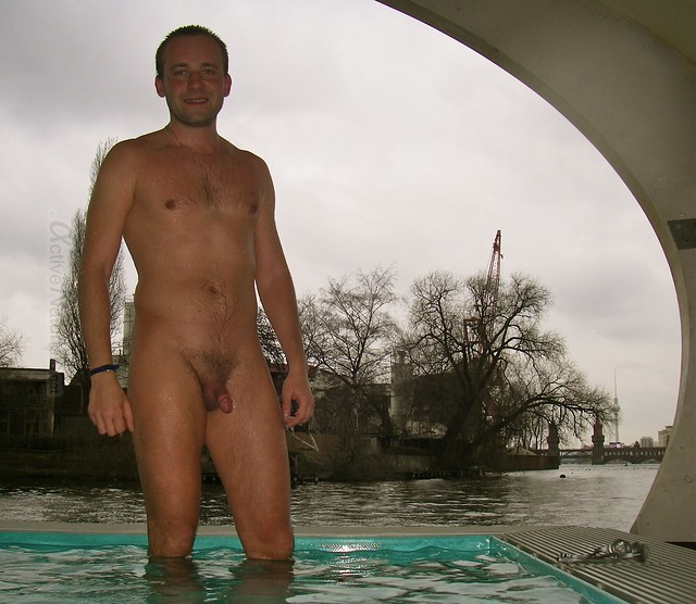 naturist 0000 Winter Badeschiff, Berlin, Germany