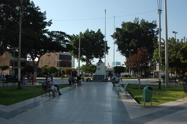 Plaza de Casma, Peru
