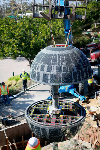 LEGOLAND California LEGO Star Wars Miniland Death Star