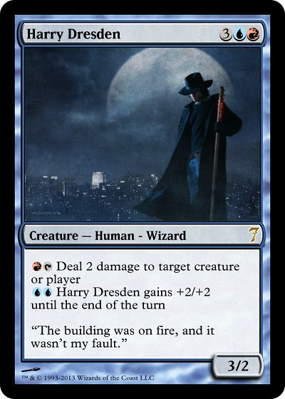 Dresden Magic Card