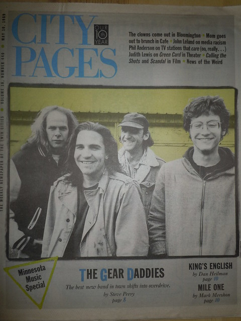 05/10/89 City Pages (The Gear Daddies Cover)