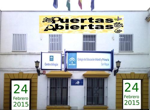 AionSur 16579476741_e69fe83b98_d Jornadas de puertas abiertas el día 24 de febrero en el colegio de San Roque Educación