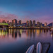 Urban sunset - Explored by David Maslen