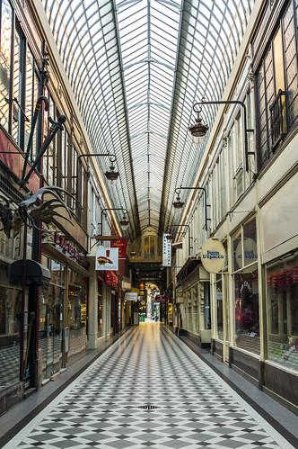 Passage Jouffroy to Passage des Panoramas, Paris, France