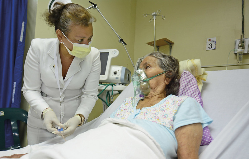 Jacqueline Gorozabel Alarcon enfermera que estuve presente en el area de emergencia del hopspital Verdi Cevallos Balda para atencion de victimas del terremoto