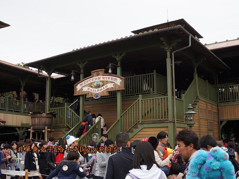 東京迪士尼樂園30西部沿河鐵路Western River Railroad