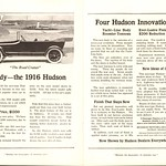 Wed, 2016-04-20 13:16 - 1916 Hudson The Road Cruiser Advertisement National Geographic June 1915