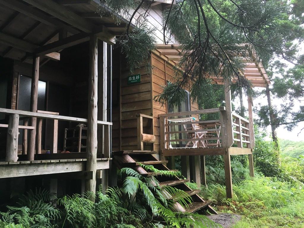 ウッドデッキつきの弥生杉という部屋