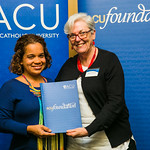ACUscholarship2016-168 Tammy Kerr and Prof. Karen Flowers