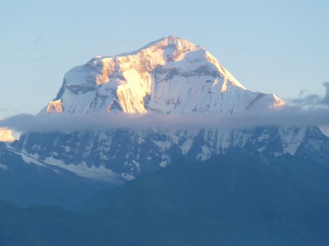 Annapurna- white himalaya, Panasonic DMC-FP3