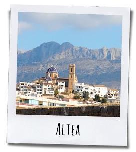 Altea is een van de authentieke witte dorpen aan de Costa Blanca