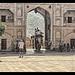 Jaipur IND - Amber Fort Sun Gate by Daniel Mennerich