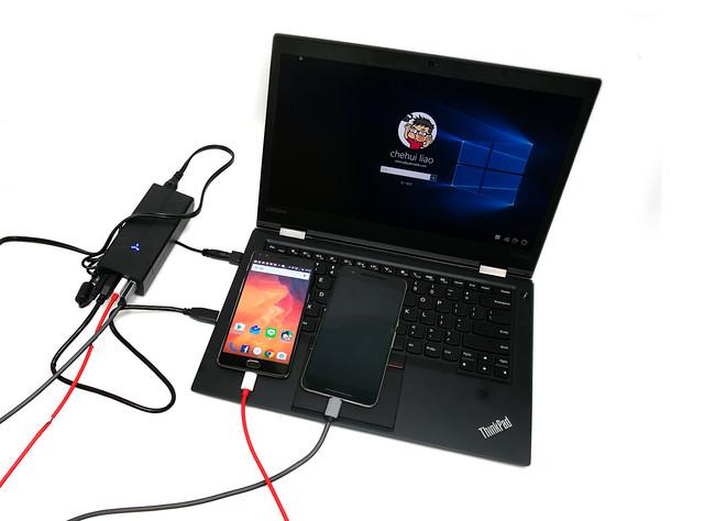 搶鮮玩!內建 USB 3.0 集線器!最強萬用筆電變壓器 FSP 全漢 NBH [二合一] 筆電萬用變壓器 @3C 達人廖阿輝
