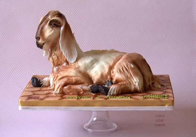Cake by Nayana Saleej of COCO Love cakes