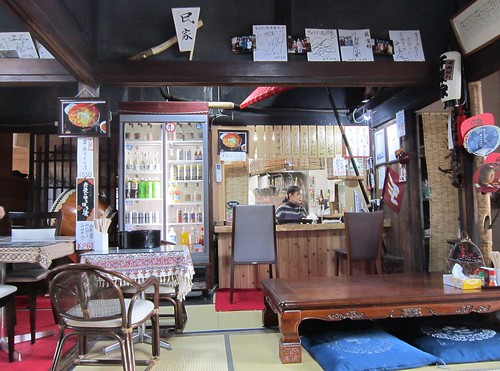 きゅうけい処民家の店内 2013年4月20日 by Poran111