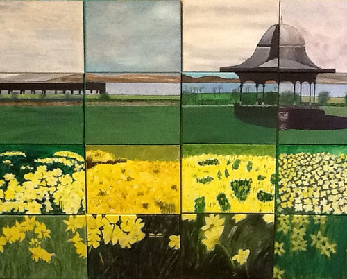 Magdalen Green Panels by 16 Members of Forthill Art Group