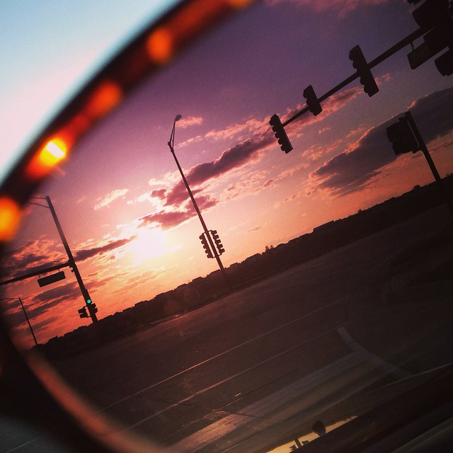 Through Rose Colored Glasses #sun #clouds